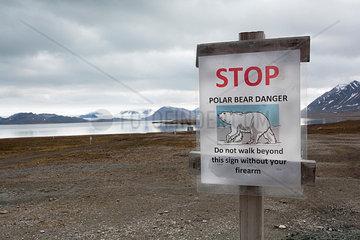 Warnung vor Eisbaeren