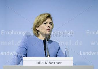 BM Kloeckner gibt Pressestatement