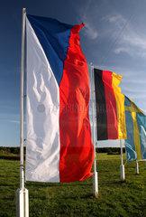 Hoppegarten  Deutschland  Nationalfahnen