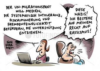 UN-Migrationspakt und Medien