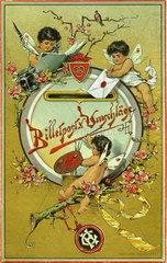 Briefumschlaege  Verpackung  1899