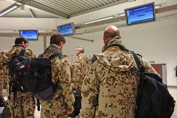 Flugbereitsschaft der Bundeswehr am Flughafen KoelnBonn