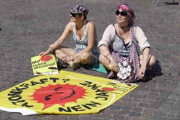 Anti-Atomkraft-Demonstration Mal richtig abschalten in Bonn