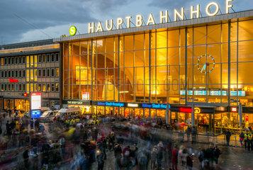 Haupteingang Koelner Hauptbahnhof