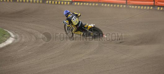 Speedway-Fahrer in Aktion  Posen