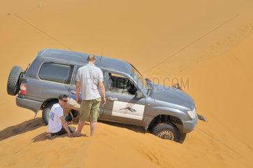 Wuesten Jeep-Safari in Marokko