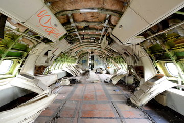 Flugzeugfriedhof in Bangkok