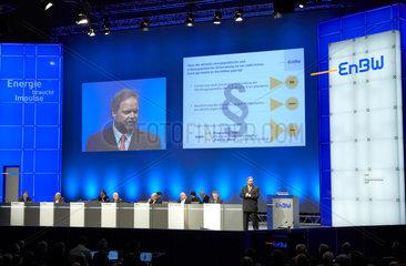 Karlsruhe - Hauptversammlung der EnBW AG