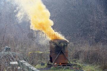 Sarajewo  Waffenvernichtung