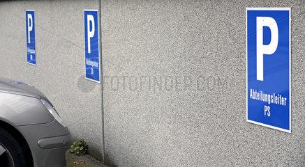 Parkplatz Abteilungsleiter PS  Ermekeilkaserne Bonn