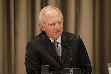 Wolfgang Schaeuble - Verleihung des Heinz-Galinski-Preises 2018