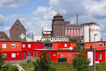 Uebergangswohneinrichtung fuer Fluechtlinge der Inneren Mission in Bremen-Walle