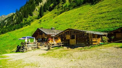 Almhuette Dietersbach-Alpe im Allgaeu