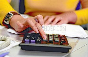 Bueroalltag  Buchhaltung