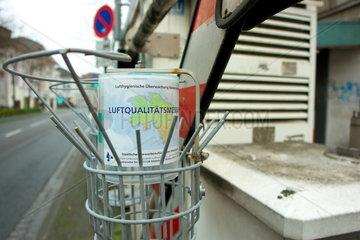 Messstation fuer die Luftqualitaetsmessung