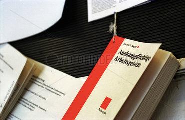 Bueroalltag  Arbeitsrecht  Betriebsrat