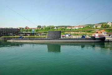 U-Boot im Hafen von Sassnitz