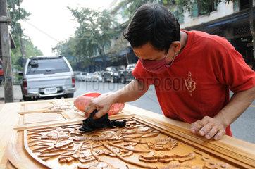 Tischler in Bangkok