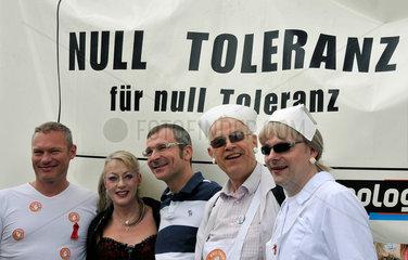 Volker Beck  MdB Gruene auf dem Christopher Street Day in Koeln