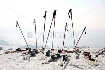 Rokytnice nad Jizerou  Tschechische Republik  Skigebiet im Riesengebirge