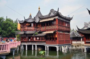 China  Shanghai  Yu Garten