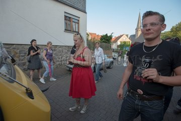 Festival auf dem Dorf