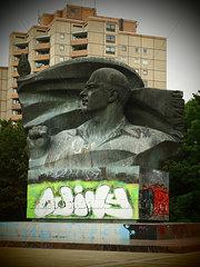 Lenin Skulptur