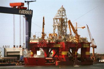 Rostock  Deutschland  Werftgelaende