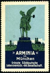 Arminia Lebensversicherung  Muenchen  Werbung  1912