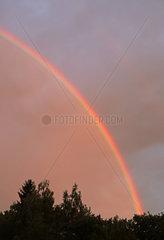 Berlin  Deutschland  Regenbogen
