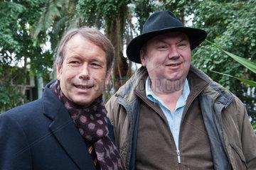 Berlin  Deutschland  Ulrich Nussbaum  links  und Bernhard Blaszkiewitz