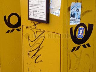 Briefkaesten der Deutschen Post