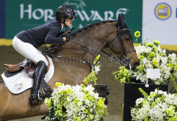 (SP)CANADA-TORONTO-HORSE RACING-FEI WORLD CUP-JUMPING