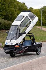 Berlin  Deutschland  ein Elektroauto CityEL der Fa. Citycom