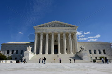 Supreme Court Building in Washington