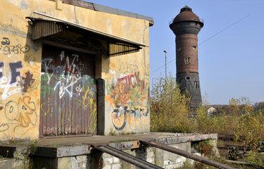 Industriebrache Rangierbahnhof Duisburg-Wedau