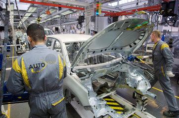 Wolfsburg  Deutschland  Produktion des VW Tiguan bei Auto 5000 GmbH