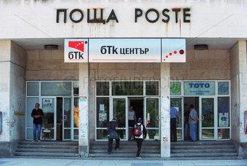 Bulgarisches Postamt mit einem BTC-Zentrum in Plovdiv  Bulgarien