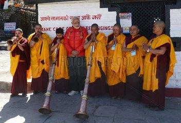 NEPAL-MUSTANG-INDIAN PM-VISIT