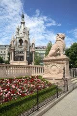 Schweiz  Genf  Brunswick Monument