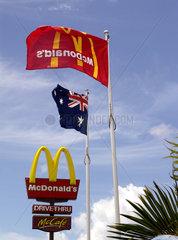 Australien  Mcdonals-Filiale in Sydney