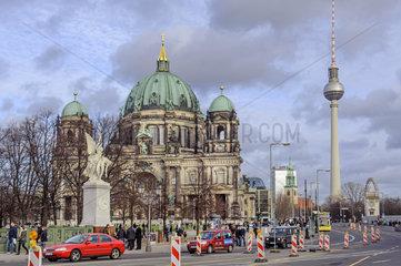 Berliner Dom + Fernsehturm