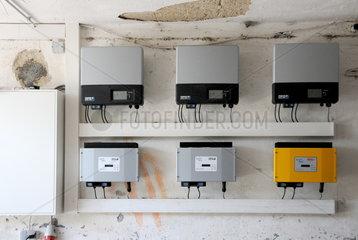 Anlage zur Einspeisung von Solarstrom
