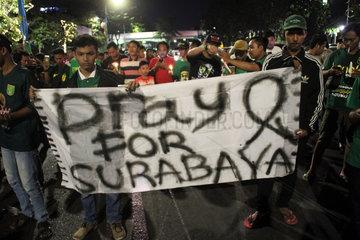 INDONESIA-SURABAYA-SOLIDARITY-CHURCH BOMBING