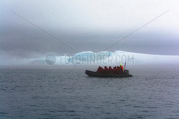 Disko-Bucht bei Nebel