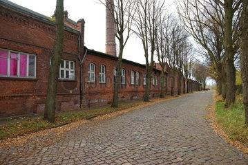 Industriegelaende in Hamburg-Wilhelmsburg
