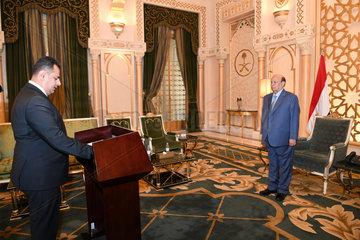 SAUDI ARABIA-RIYADH-YEMEN-PM-SWEARING IN