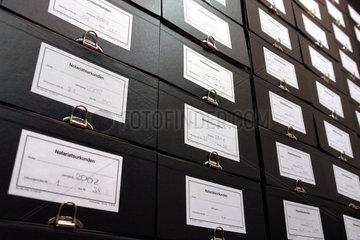 Notariatsurkunden in einem Notariat
