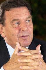 Bundeskanzler Schroeder