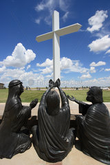 Groom  USA  das groesste christliche Kreuz der westlichen Hemisphaere bei Groom